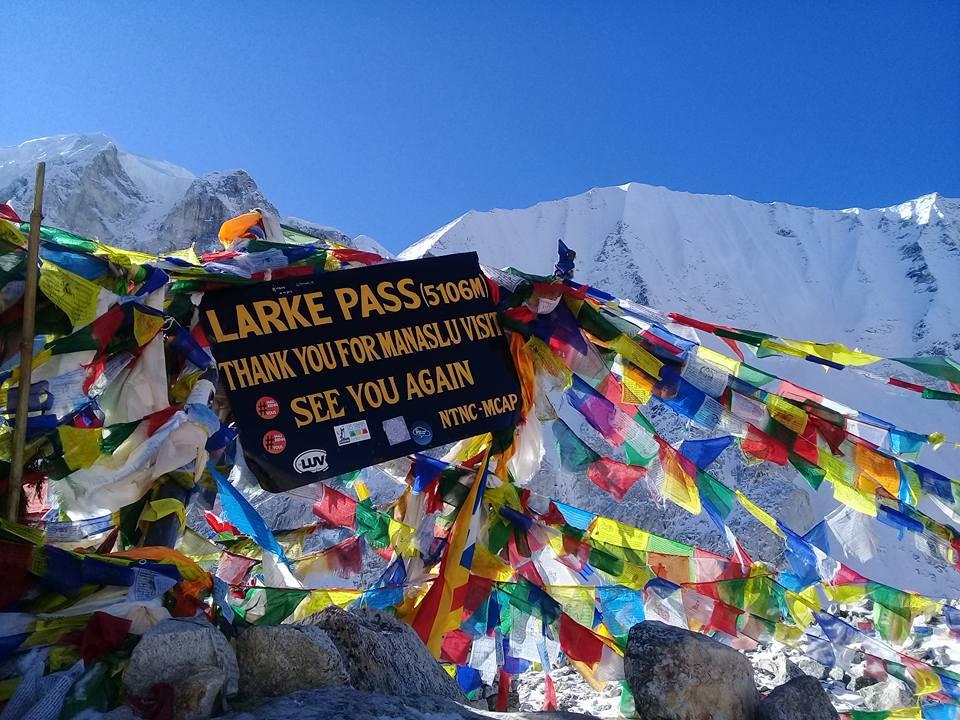 Larke La pass trek
