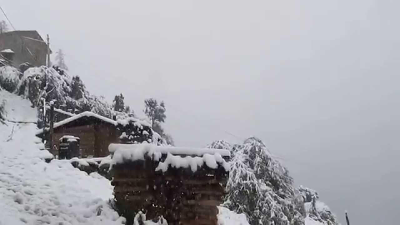 Phulchowki Snowfall