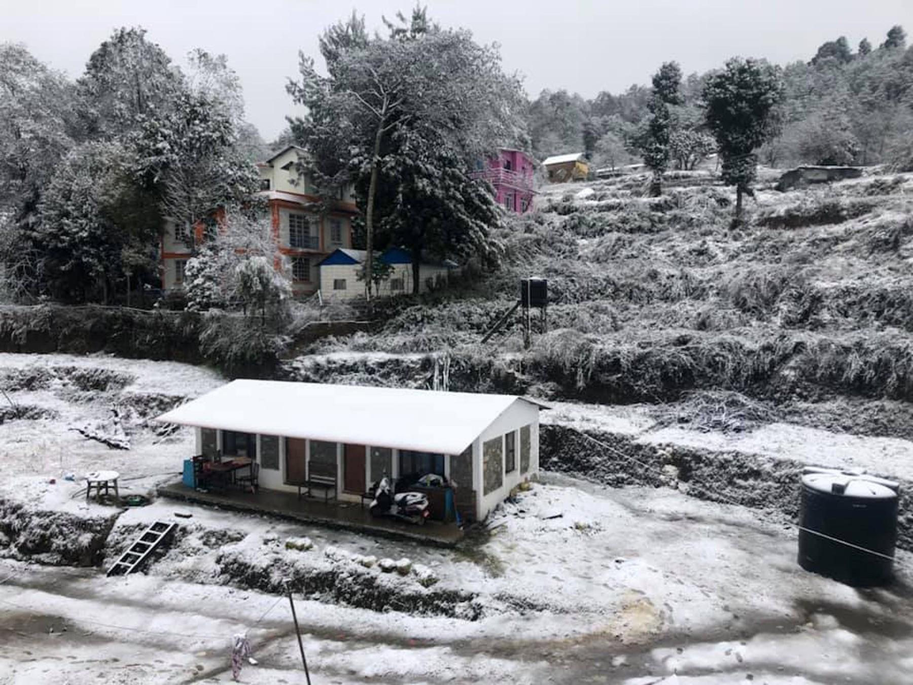 Nagarkot Snowfall