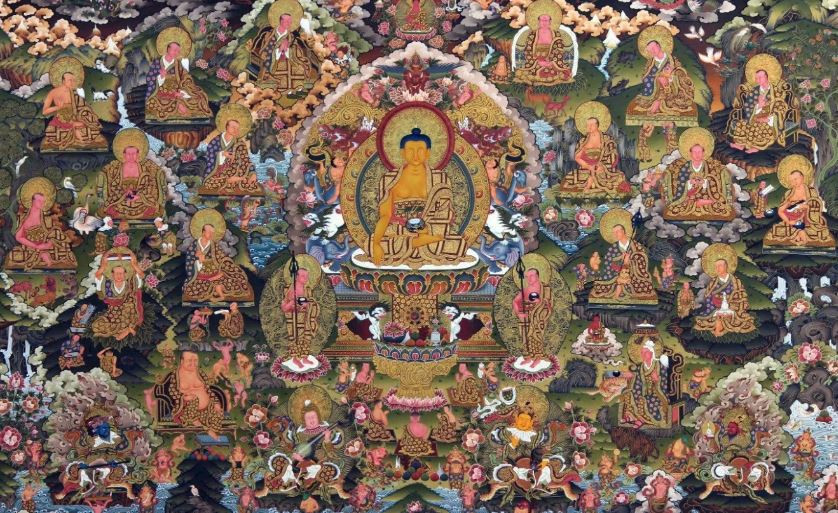 Thangka paintings in Nepal