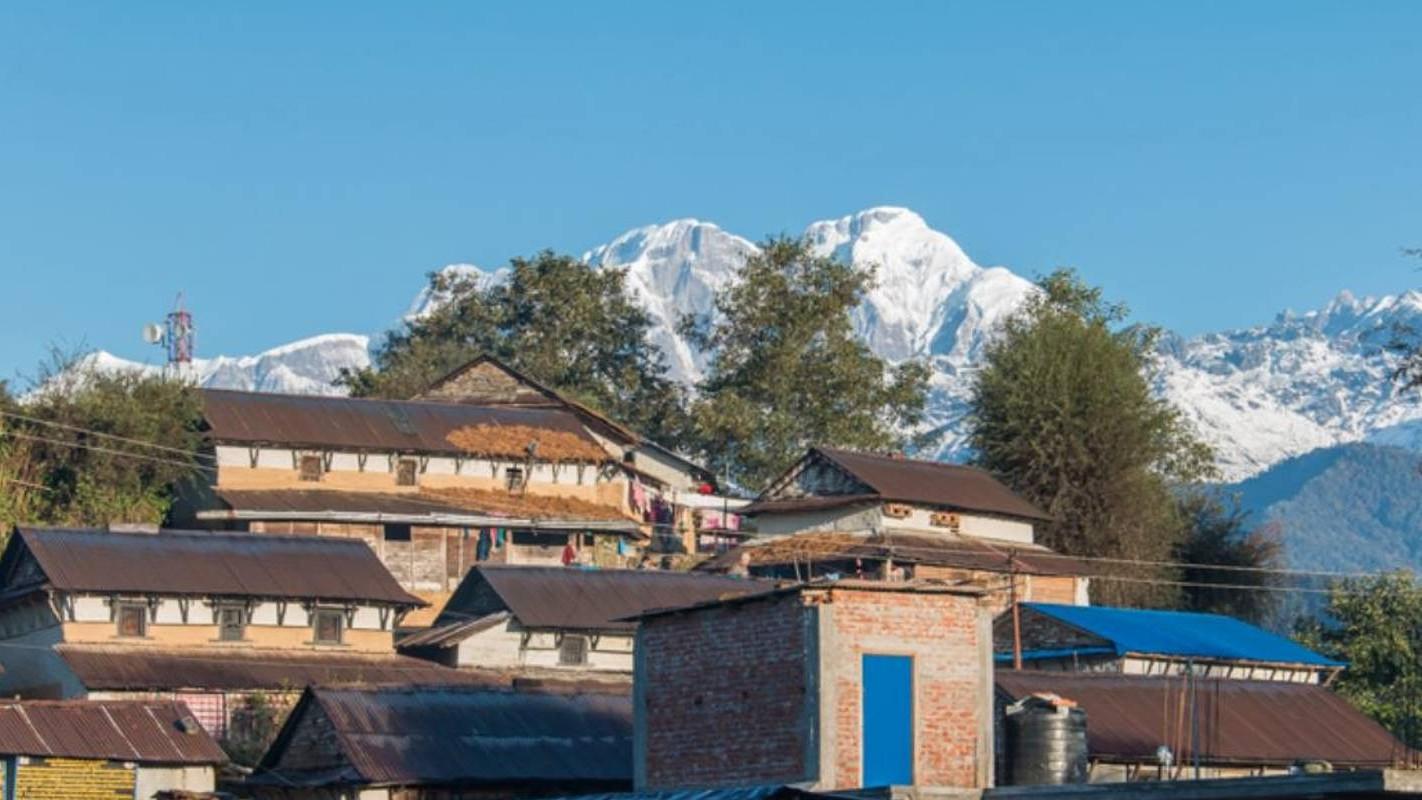 Ghale Gaun Village Nepal | Villages in Nepal | Annapurna Region