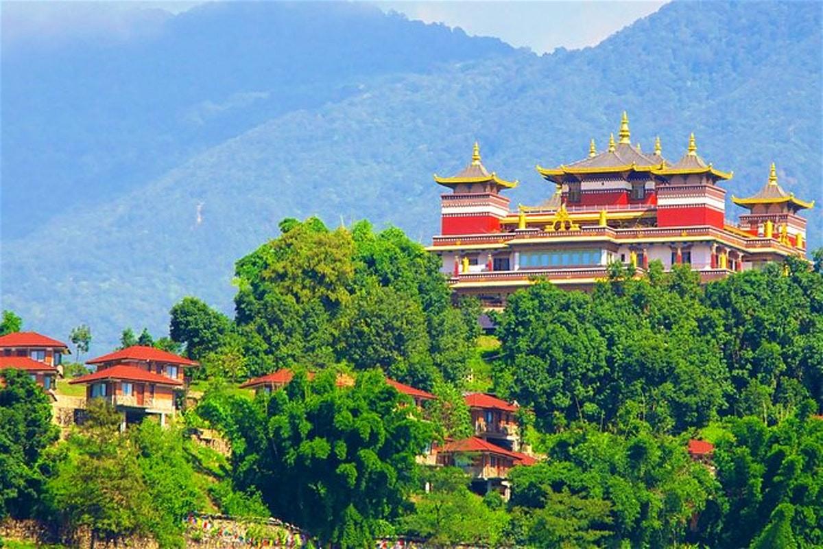 Kapan Monastery in Kathmandu