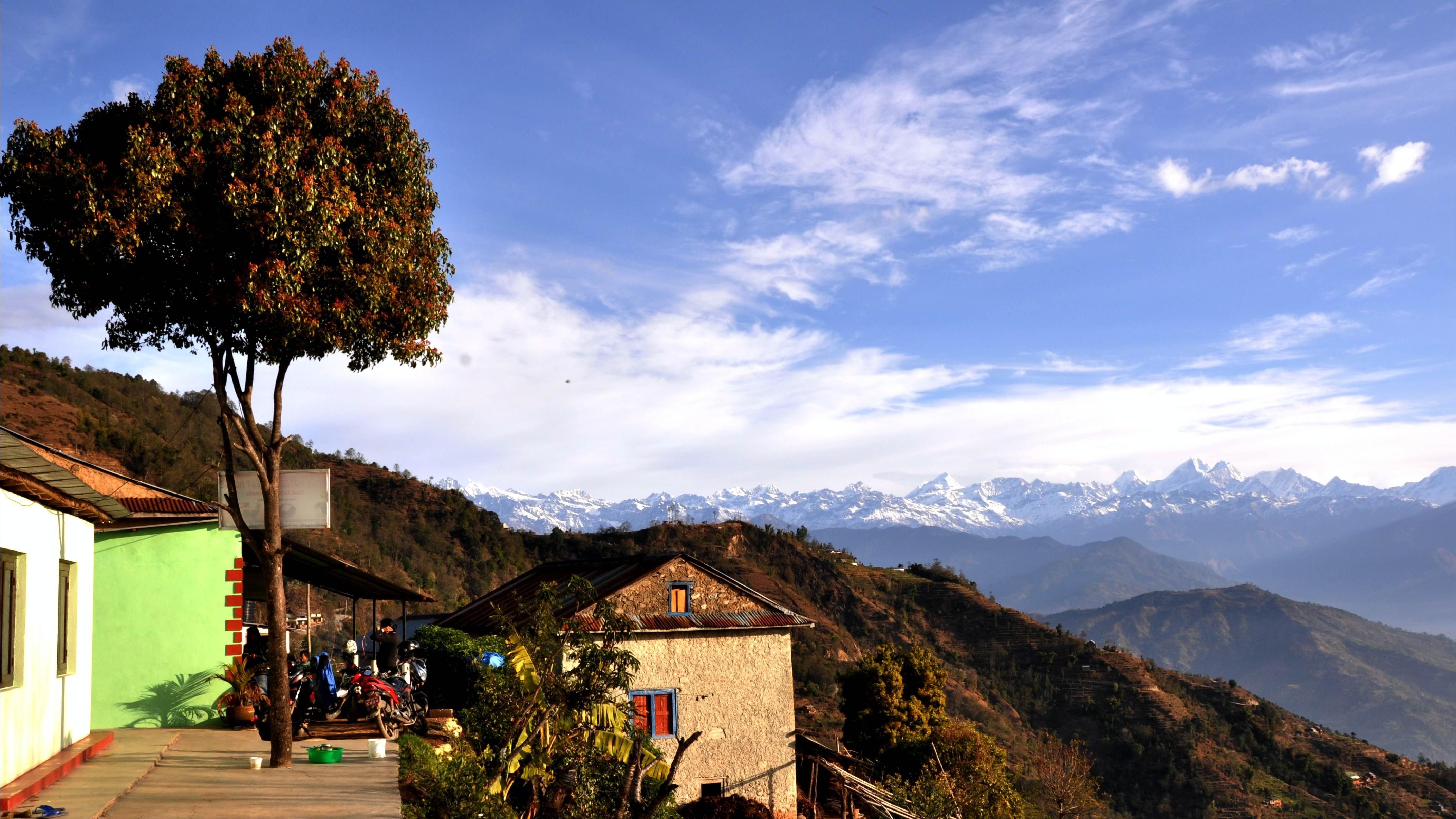 Camping near kathmandu