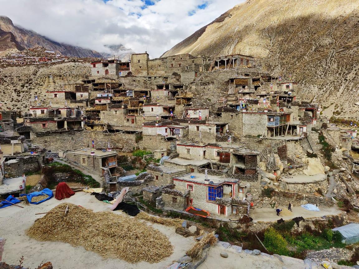Manang in nepal