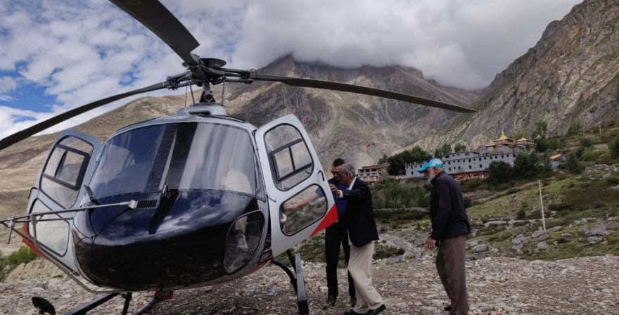 Muktinath By Helicopter