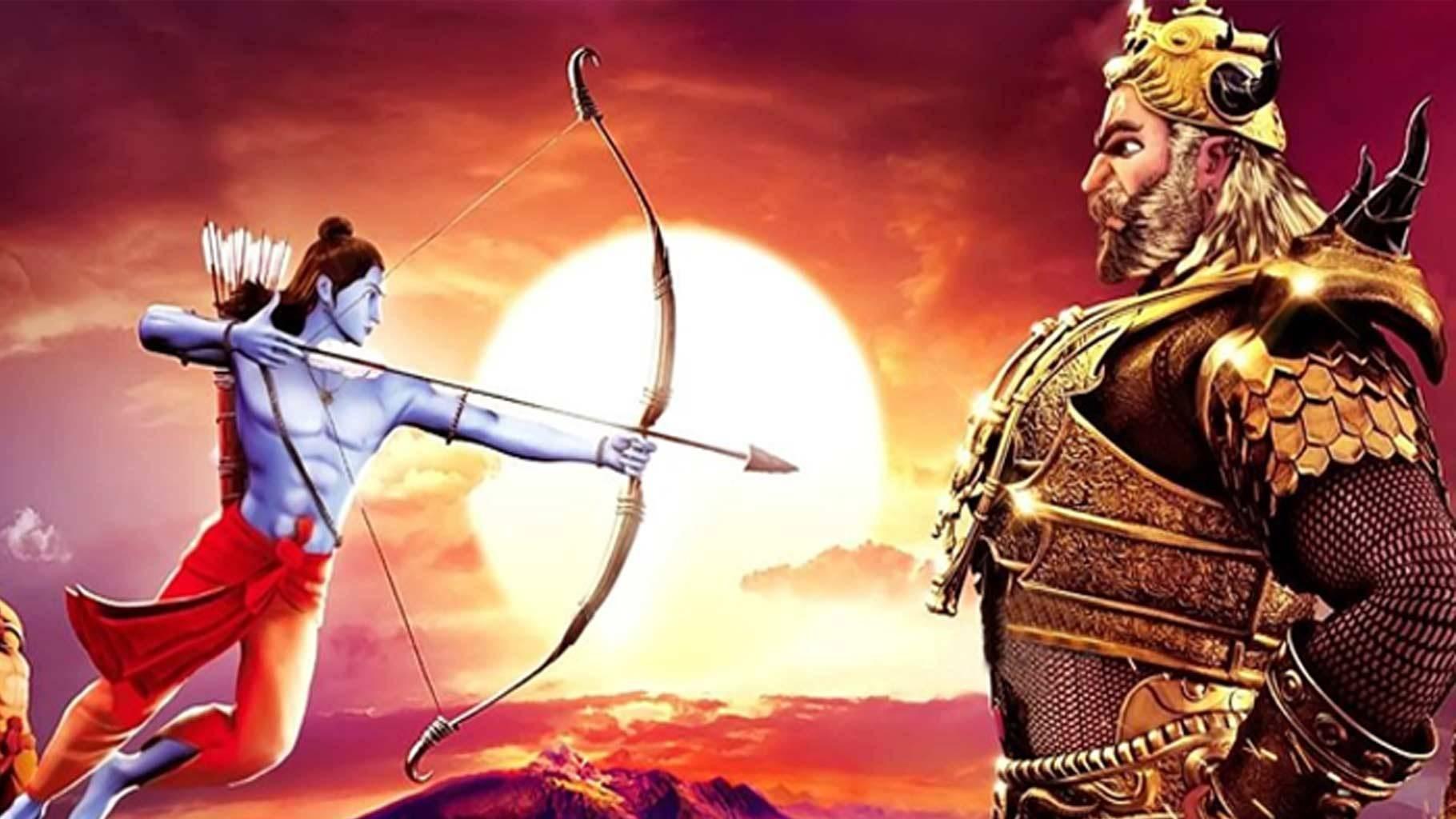 Ram Fight with Ravan